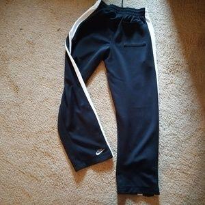 Nike Jogging Pants Black White Medium